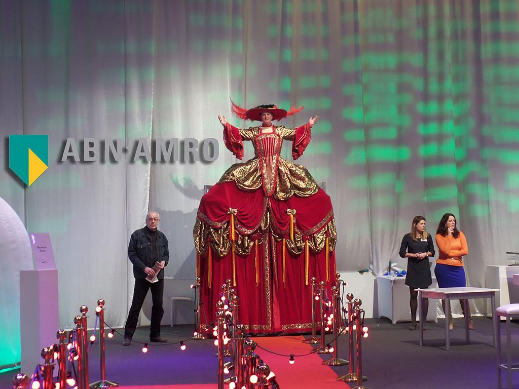 Congres opening met een spectaculaire openingsact